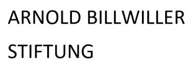 ARNOLD BILLWILLER STIFTUNG